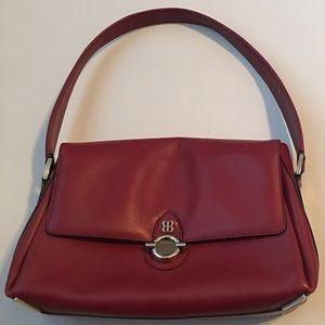 Balenciaga Structured Flap Shoulder Bag, Red